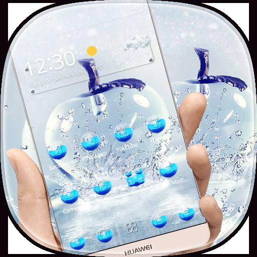 Crystal Apple Theme Wallpaper (app)