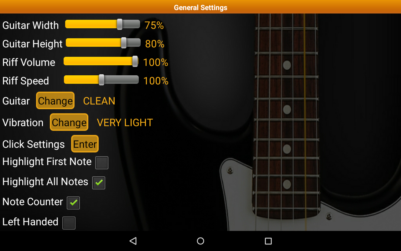 Guitar Scales & Chords Pro Screenshot 17