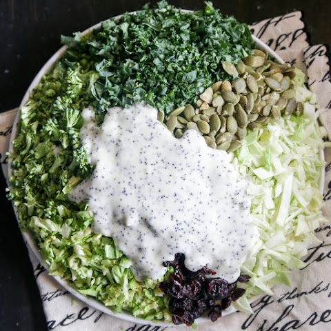 Superfood Salad with Poppy Seed Dressing