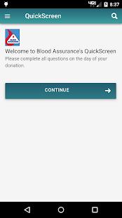 Blood Assurance QuickScreen for pc