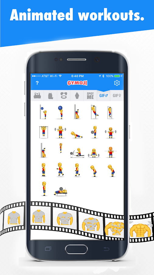 Gymoji Screenshot 3