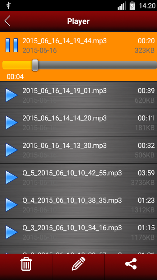 Voice recorder pro Screenshot 3
