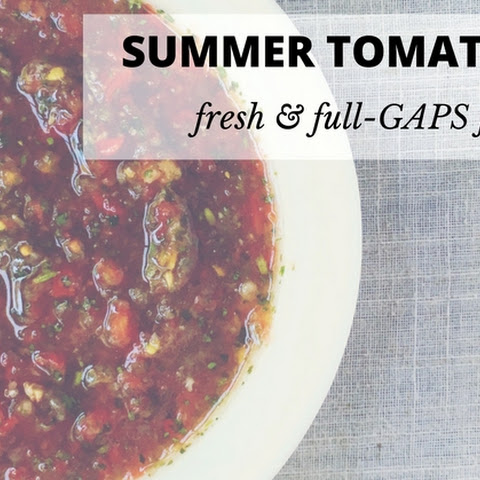 Fresh Tomato Salsa - Full GAPS Friendly