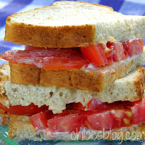 Farmhouse Tomato Sandwich & the Great Mayonnaise Debate