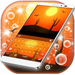 Golden Sun Keypad Theme for Android