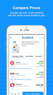 Basket Savings - screenshot