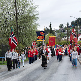 The national day of Norway by Anngunn Dårflot - Public Holidays July 4th