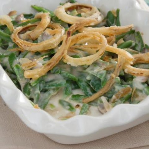 Green Bean Casserole in the Crockpot