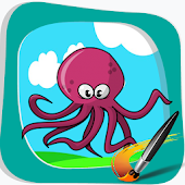 Free Squid Kids Coloring Best APK for Windows 8
