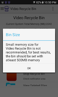 Video Recycle Bin for Lollipop - Android 5.0
