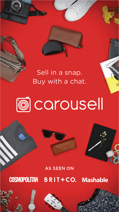 Carousell: Snap-Sell, Chat-Buy Screenshot 0