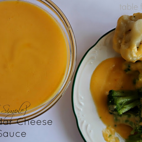 Simple Cheddar Cheese Sauce