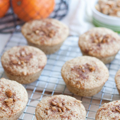 Buttermilk Orange Muffins with Spiced Walnut Topping