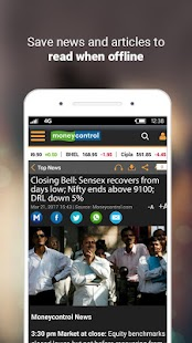 App Moneycontrol Markets on Mobile APK for Kindle