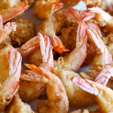Mum's Deep Fried Prawns
