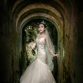 Sur by Wang David - Wedding Bride ( david wang pixels, the wedding boss, bonjangles )