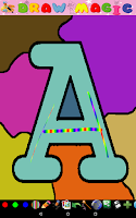 Screenshot of Coloring for Kids - ABC