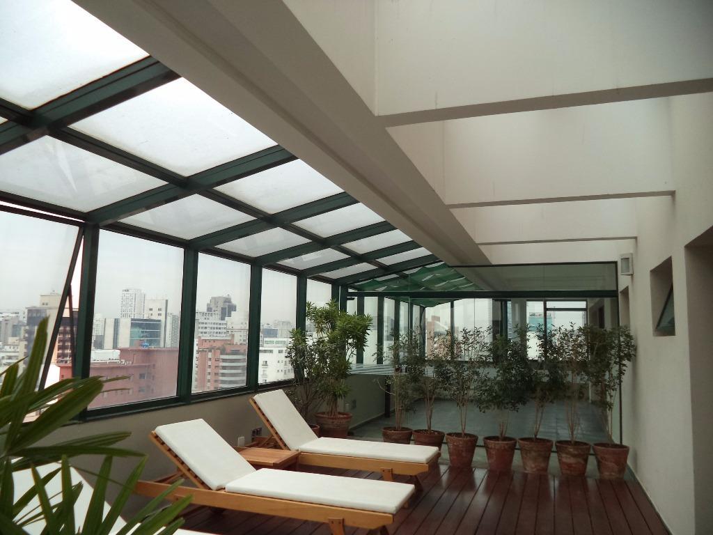 Flat 1 Dorm, Itaim Bibi, São Paulo (FL0450) - Foto 17