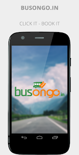 Busongo.in Bus Ticket Booking - screenshot