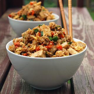 Tofu Fried Rice Peas Recipes