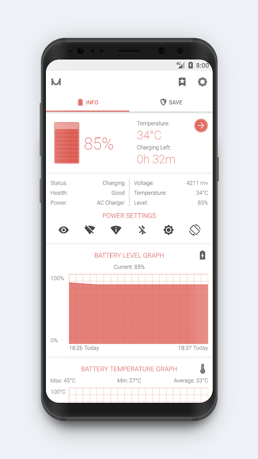 Battery Manager (Saver) Screenshot 1