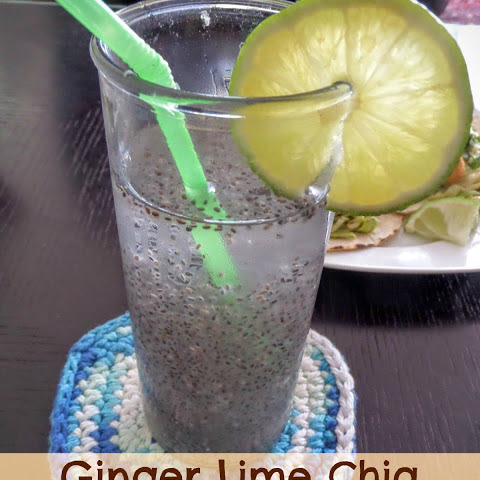 Ginger Lime Chia Water