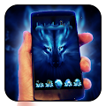 Download Free Wolf Night Launcher Theme APK to PC