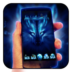 Free Wolf Night Launcher Theme for Lollipop - Android 5.0