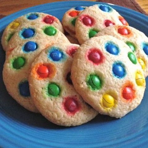 Gluten-Free M&M's Soft Sugar Cookies