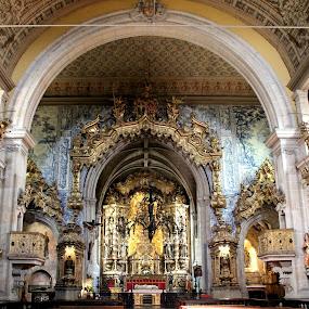 Church san Francisco by Graça Cortez - Buildings & Architecture Public & Historical ( building, interior, worship )
