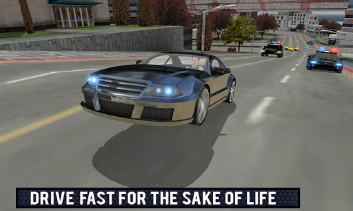 Police Car Gangster Escape Sim For PC