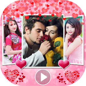 The best way to make love photo music videos, slideshows and movie video editor APK Icon