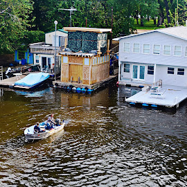 mississippi river by Jon Radtke - Buildings & Architecture Homes ( mississippi river )