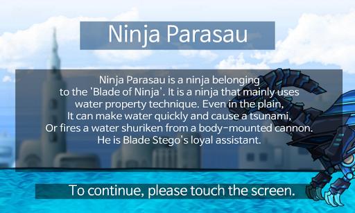 Ninja Parasau - Dino Robot