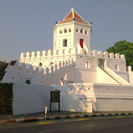 Fort of Chao Phraya by Zulkifli Khair - Instagram & Mobile Android ( menam chao phraya, thailand, bangkok )