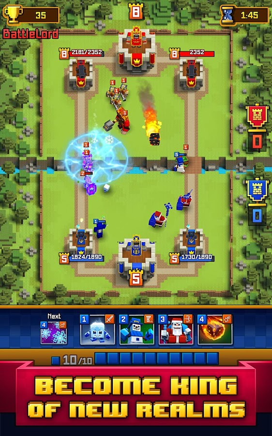 Craft Royale - Clash of Pixels Screenshot 11