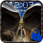 Skull Zip Screen Lock 1.0 Apk