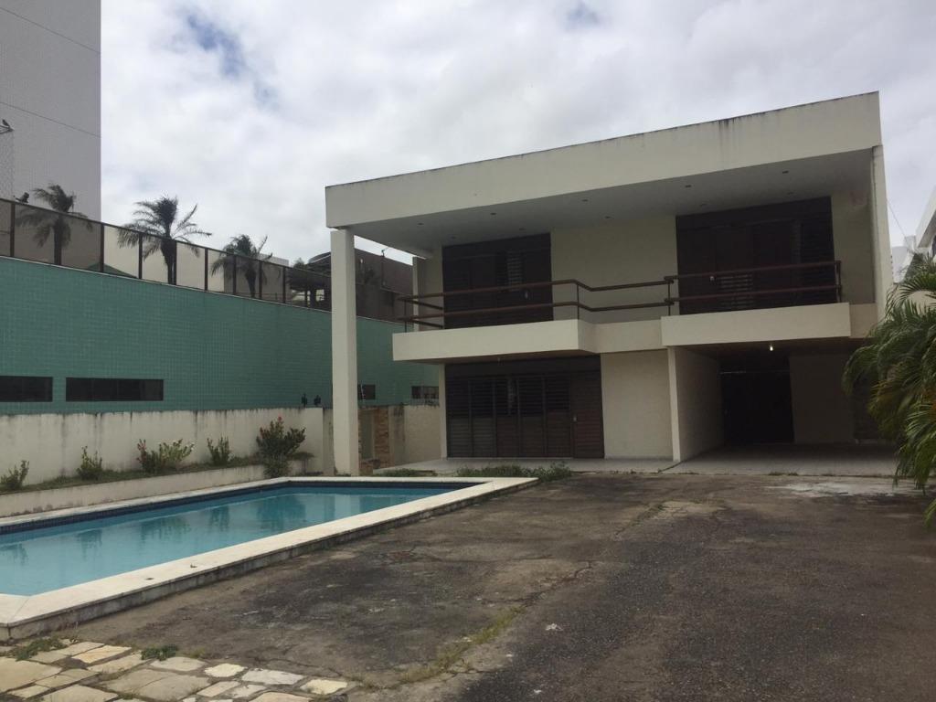Casa com 7 dormitórios para alugar, 700 m² por R$ 5.000/mês - Pedro Gondim - João Pessoa/PB