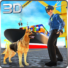 Police Dog Modern Pirate Chase
