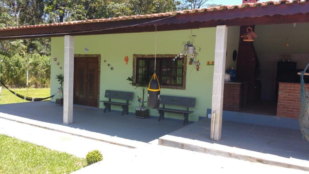 Chácara, Casa com 3 dormitórios à venda ou permuta 3000 m² - Itanhaém/SP