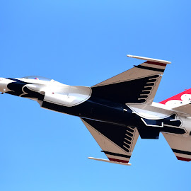 Full frame without cropping by Donalee Eiri - Transportation Airplanes ( sacramento, thunderbirds, airshow )