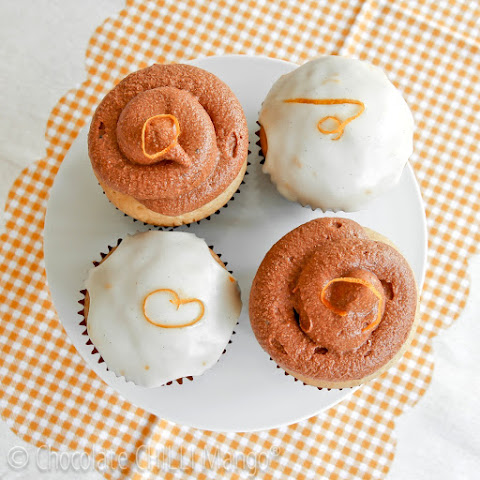 Vanilla Orange Cupcakes (Dairy, Nut, and Egg Free)