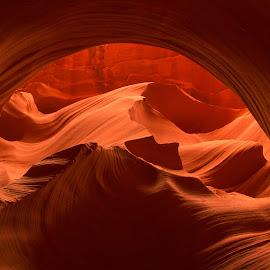 by Blair Wright - Landscapes Caves & Formations ( rock formations, navijo, arizona, canyon, landscape, page arizona, antelope canyon )