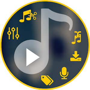 Trim Merge Mix Record Music-Player.Best all in one app to experiment with music. APK Icon