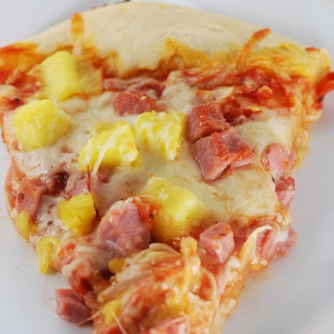 Pineapple and Ham Pizza