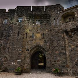 Where battles were lost but wars were won by Jason Smith - Buildings & Architecture Public & Historical ( scotland, eilean donan castle, stone, door, highlander, castle, entrance )