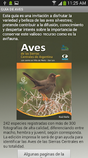Aves de Merlo - screenshot