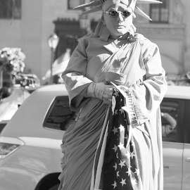 by Anna Tripodi - People Street & Candids ( anything goes here, lady liberty )