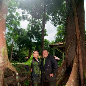 wedding by Hafiz Othman - Wedding Bride & Groom ( wedding, malay, malaysia )