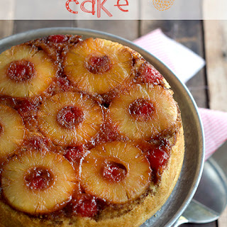 Campfire Upside Down Pineapple Cake